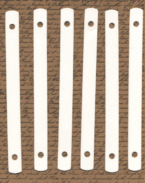 Eco Green Chipboard Rulers
